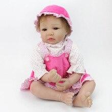 22 «bebe mignon reborn poupées pour enfants cadeau doux silicone reborn babieswith sucette bouteille réel alive bonecas reborn