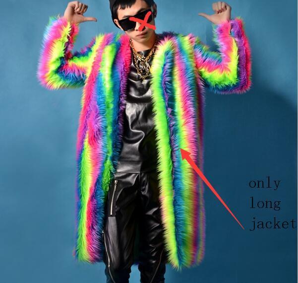 Male Fur Jacket Winter...