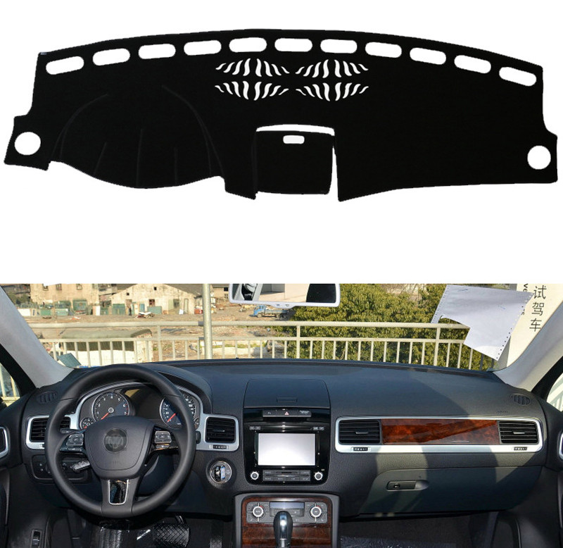 Fit For Volkswagen Touareg 2011-2017 Years Car Dashboard Covers Dashmats Pad Auto Shade Cushion Carpet Protector