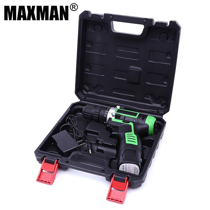 MAXMAN 12 v Haushalt DIY Lithium-Ionen Batterie Dremel Bohrmaschine Akku-bohrschrauber Power Bohrer Werkzeug Holz