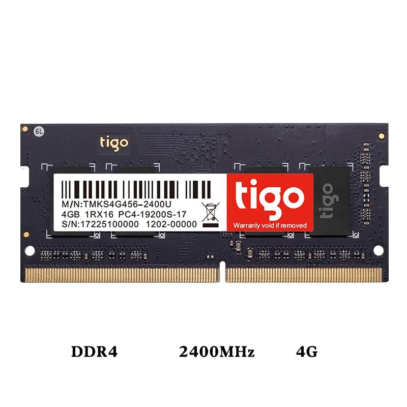 DIMM 4G 8G DDR4 2400 MHz RAM PC4-19200 Memoria 260pin ordinateur portable ram tension 1.2 V mémoire unique RAM Compatible ddr4 2133 MHz