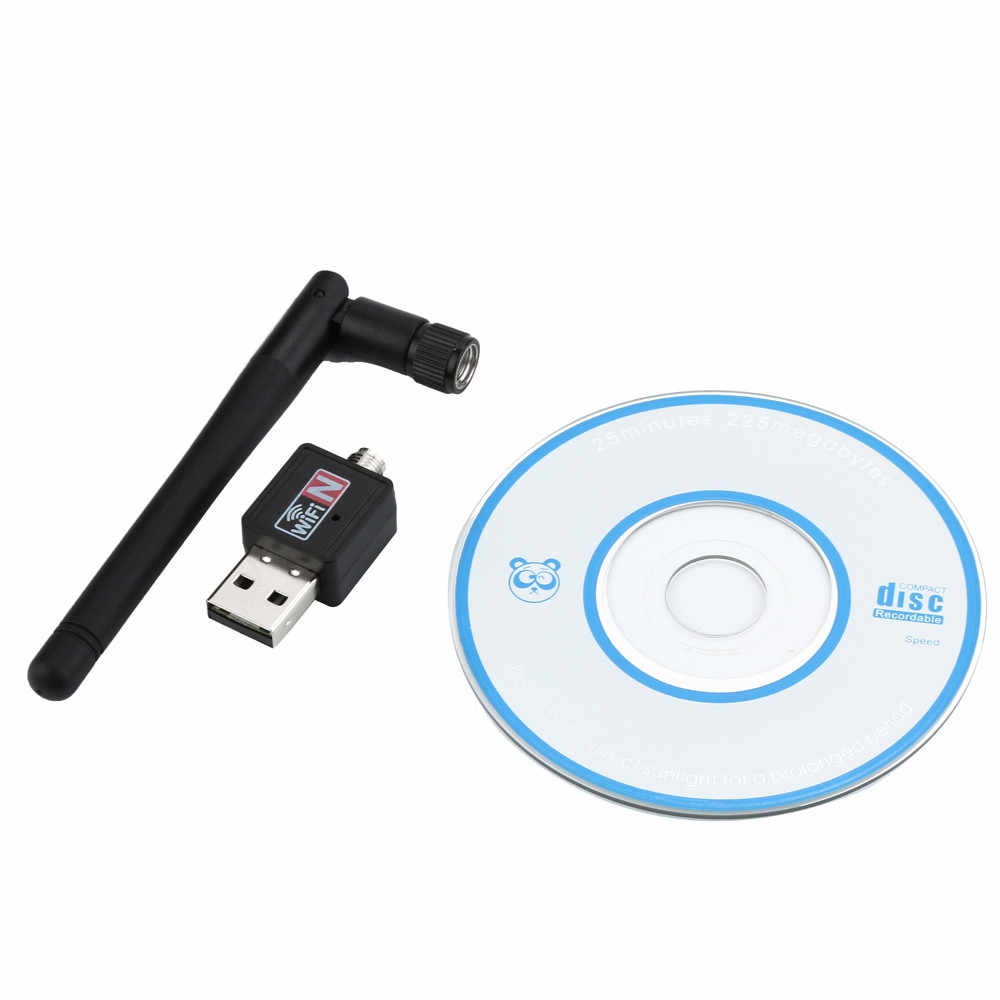 2018 New High Speed 300Mbps 802 11n/g/b Mini USB Wifi Adapter wi-fi Network  LAN Card w/Antenna Best Selling NM18