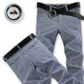 2016 new high quality autumn Men's Linen cotton Pants men Casual Stretch trousers Men's Clothing business pants Size 28-38