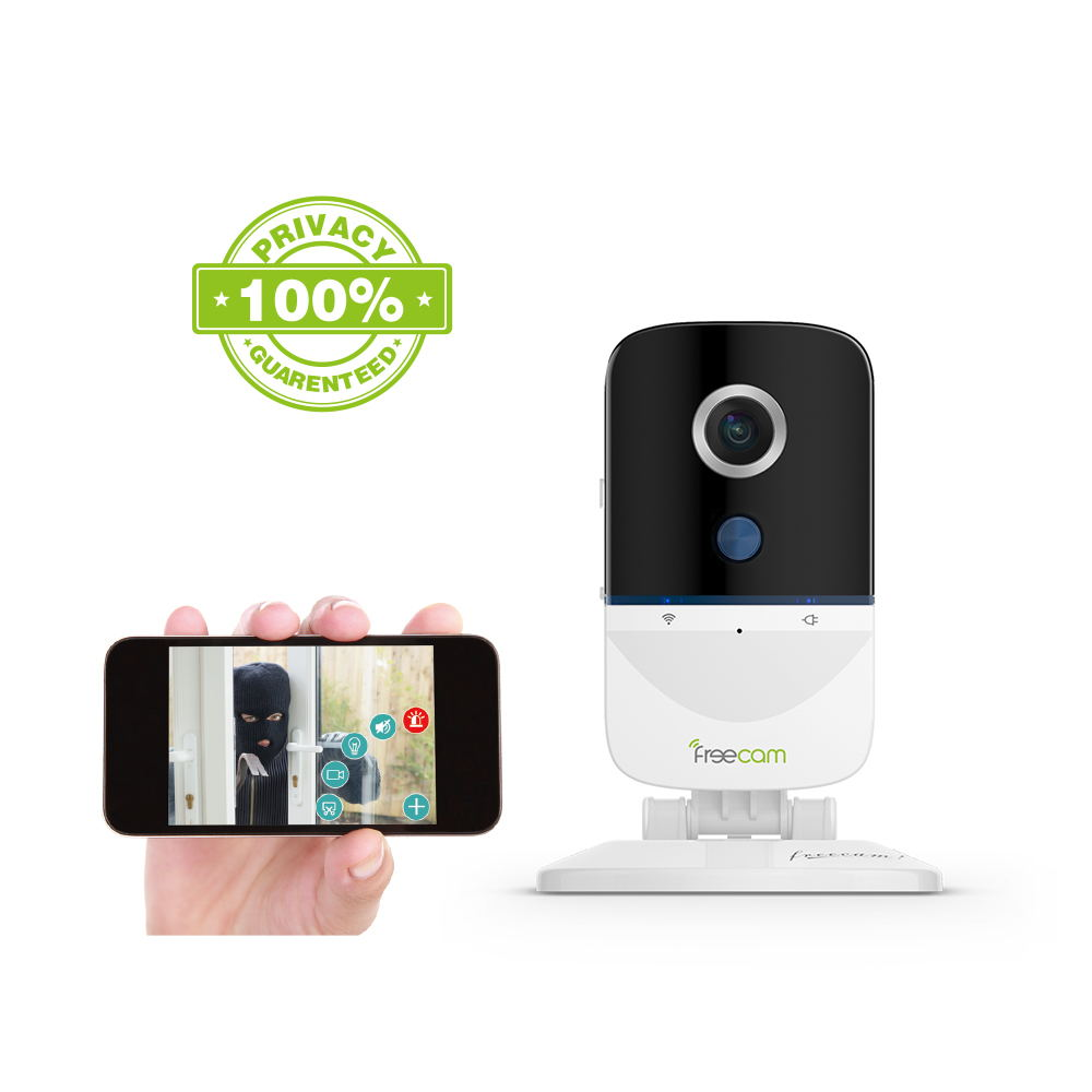 FREECAM L890 Wifi Camera mini baby Cam Motion-Activated Security IP Camera Two-Way Talk,Built-in <font><b>Suspicious</b></font> Intrusion Detection image