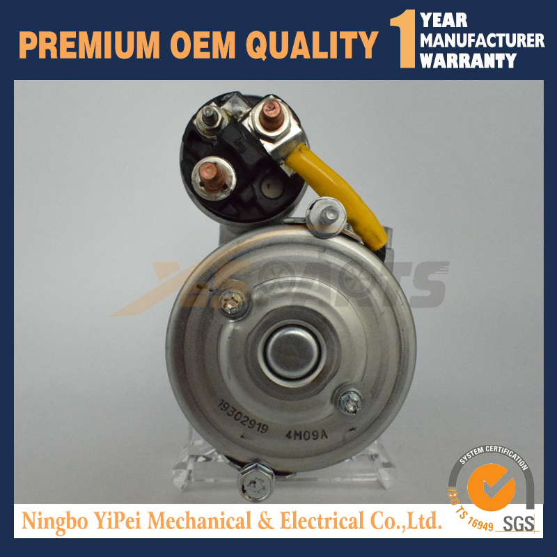 3860566 3885317 12V 1 4KW New Starter FOR Volvo Penta V6 V8 Engines