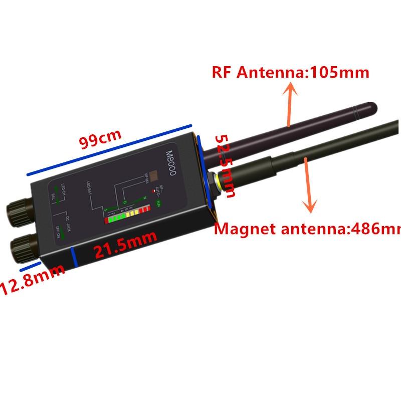 Large Range Hidden Spy Camera Finder Camera Detector Anti-spy RF Signal Detectors Lens GSM Device Finder Monitor все цены