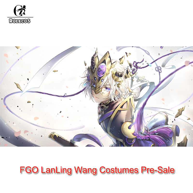 6d7692299c8 ROLECOS Pre-Sale Game FGO Fate Grand Order Cosplay Costumes Prince of  Lanling Fate Cosplay