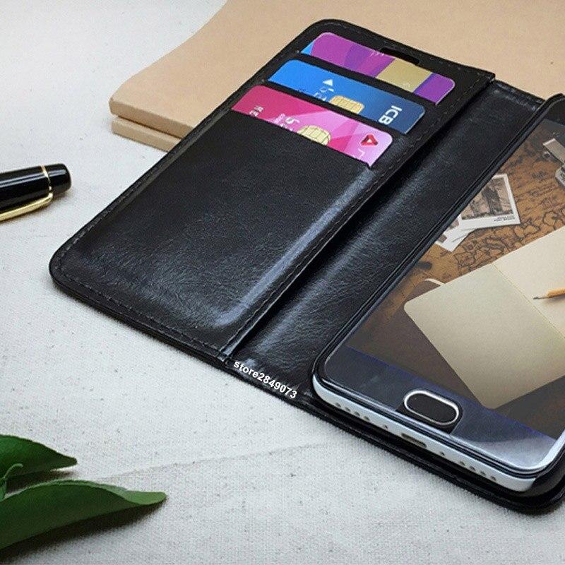 Xiaomi redmi note 5a Pro väska täcka 5 en läder Crazy häst fodral - Reservdelar och tillbehör för mobiltelefoner - Foto 6