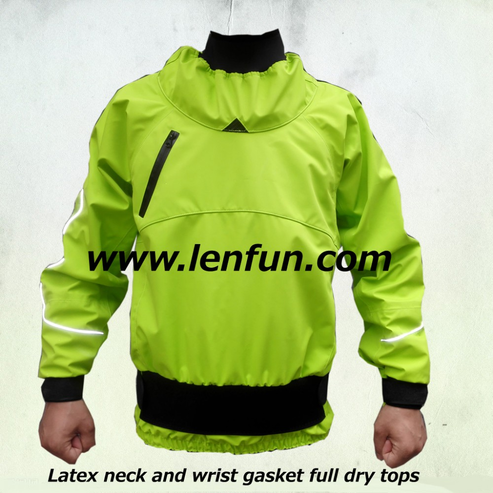 2012new Whitewater kayak gear dry suit Sea Kayaking dry top sailing suit canoeing jacket