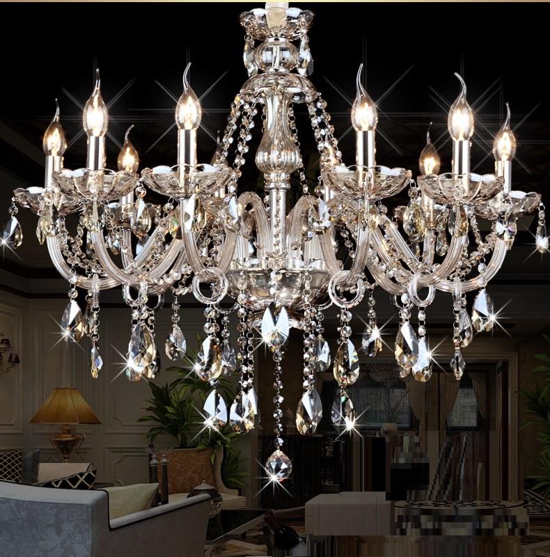 ջահ ՝ Crystal Modern Living Room lust sala de cristal modern - Ներքին լուսավորություն - Լուսանկար 3