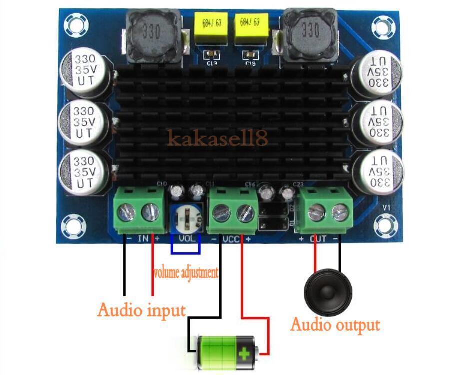 TPA3116 D2 tpa3116da DC 12 В 24 В 100 Вт моно канальный цифровой Мощность аудио Усилители домашние доска