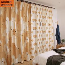 Customized Living Room Cloth Window Bedroom Cartoon Curtain Kids Curtains High Quality Fabric Finished