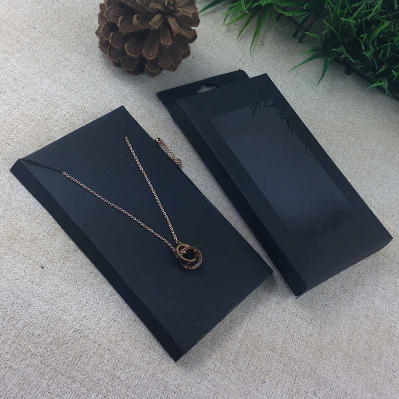Image 2 - 2016  New Necklace Card Box   1Lot =50box  50 pcs inner Card  18x10x2cm Necklace Box Gifg BOX  Pendent  Box / Earring Casependente  boxeearrings casenecklace box