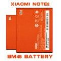 Bm45 venda quente de alta capacidade de telefone celular bateria bateria para xiaomi hongmi redmi note 2 bm45