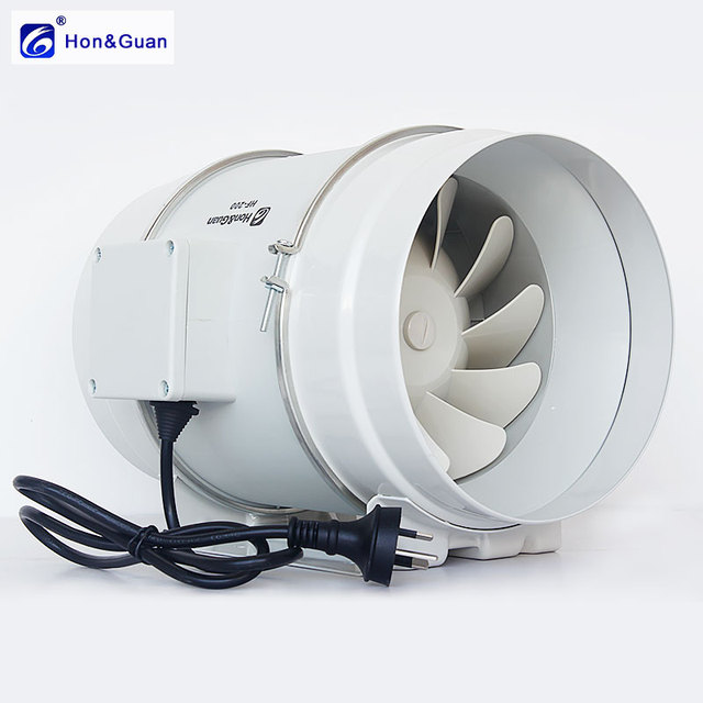 8 Inch 200p Strong Suction Circular Exhaust Fan For Kitchen Silent