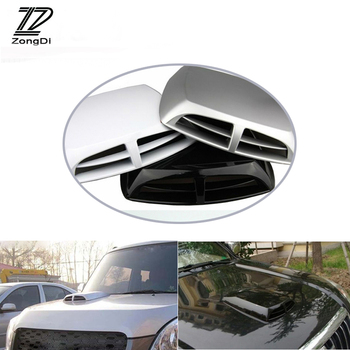 ZD For Mercedes W203 W211 W204 W210 Benz BMW F10 E34 E30 F20 X5 E70 Car Front Fender Engine Hood Air Vent Trim Cover Sticker image