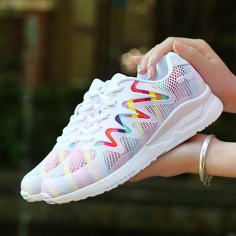 87 oficial Original Clássico 2019 Mulheres Malha Respirável Running Shoes Femme 270 Sneaker Tamanho Máximo 40 90 Esporte Atlético Ao Ar Livre