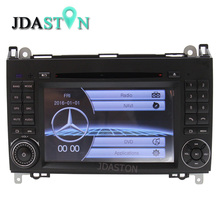 JDASTON 7 inch Car DVD Player for Mercedes Benz B200 A B Class W169 W245 Viano Vito W639 Sprinter W906 Radio Multimedia GPS Navi