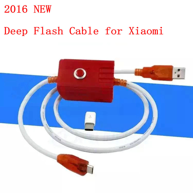 2016 New deep flash cable for xiaomi phone models Open port 9008 Supports all BL locks