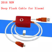 2016 New deep flash cable for xiaomi phone models Open port 9008 Supports all BL locks Engineering with free adapter china agent