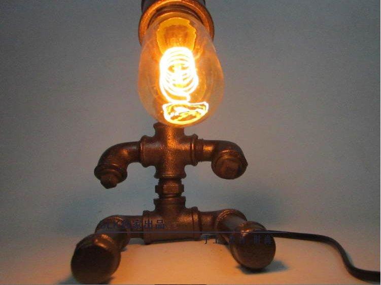٩ ۶edison Ampoule Vintage Industrielle Retro Style En Acier