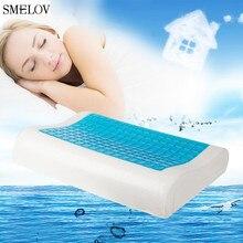 comfort Cooling Pillow gel Summer Ice-cool Anti-snore Memory Foam Orthopedic Sleep neck Fatigue Relief Pillow Home Bedding 50*30 japan pilot anti fatigue gel pen bl 415v handshake comfort 0 7mm 5pcs