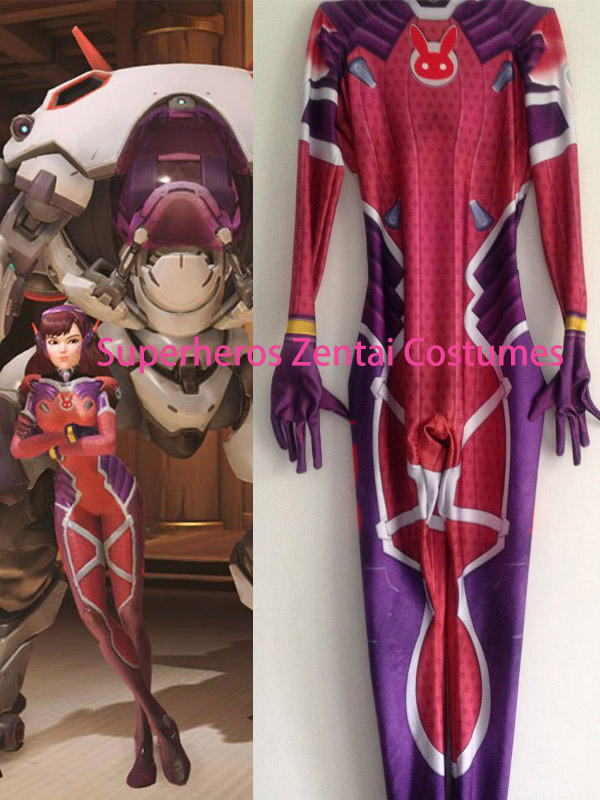 aliexpress com buy d va costume lycra spandex dva cosplay zentai