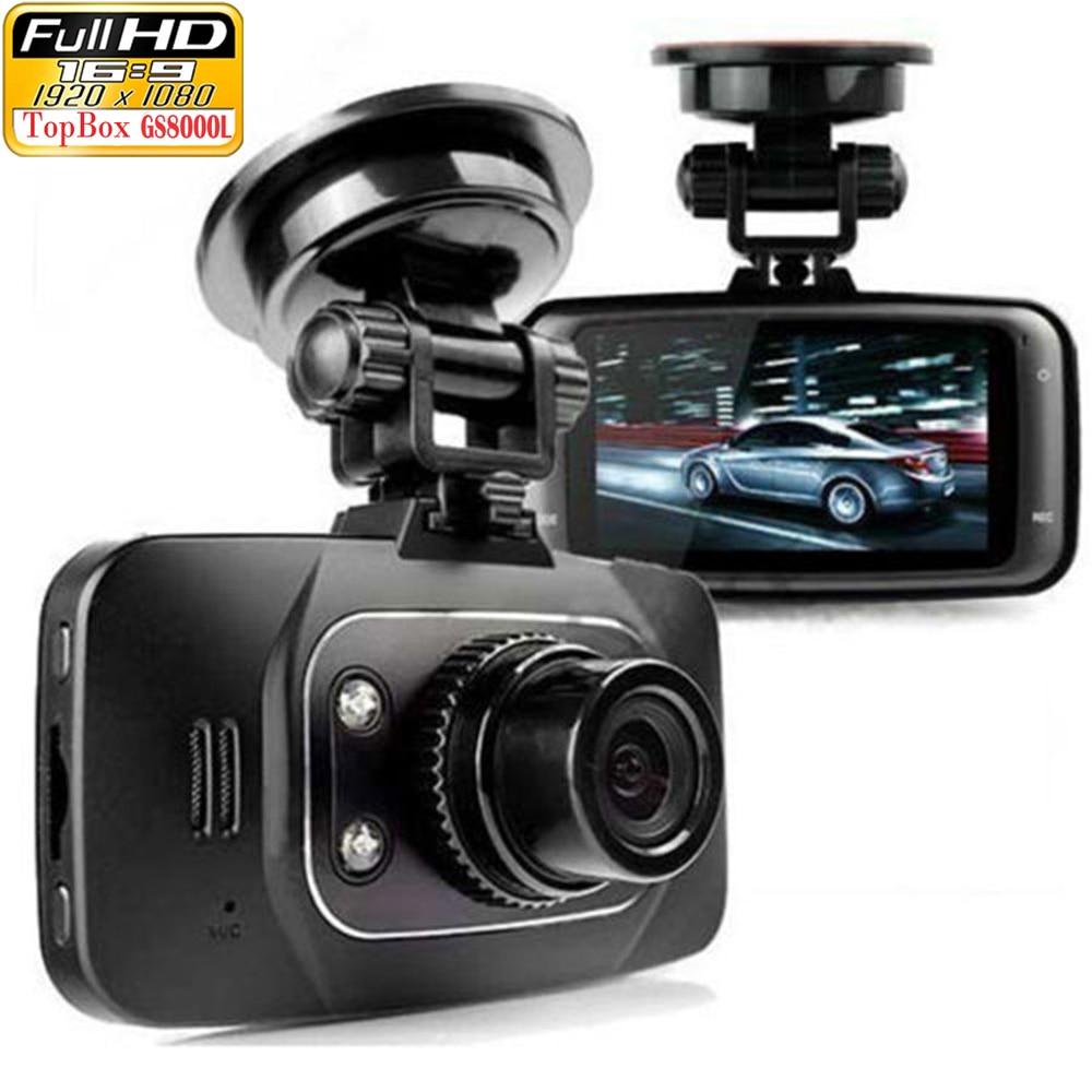 Original Novatek GS8000L Full HD 1080P 2.7 Car DVR Vehicle Camera Video Recorder Dash Cam G-sensor HDMI Night Vision Black Box