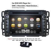 Car DVD GPS Stereo Radio Nav For GMC Yukon Sierra Chevrolet Chevy Tahoe Suburban CANBUS SD,USB,RDS,BLUETOOTH,DAB+DTV,SWC MAP+Cam
