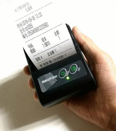 Portable 58mm Thermal Bluetooth Printer Bluetooth Receipt Printer bluetooth USB / serial port for Windows Android POS Printer serial port best price 80mm desktop direct thermal printer for bill ticket receipt ocpp 802