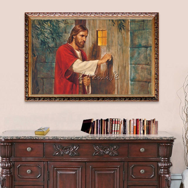Jesus Christ Painting The Portrait Of Jesus Home Decor Catholic Wall Art  Pictures Painting Print Giclee