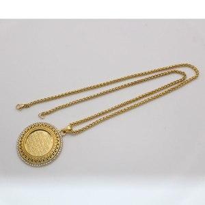 Image 4 - zkd AYATUL KURSI crystal Pendant necklace  islam muslim Arabic God Messager Gift  jewelry