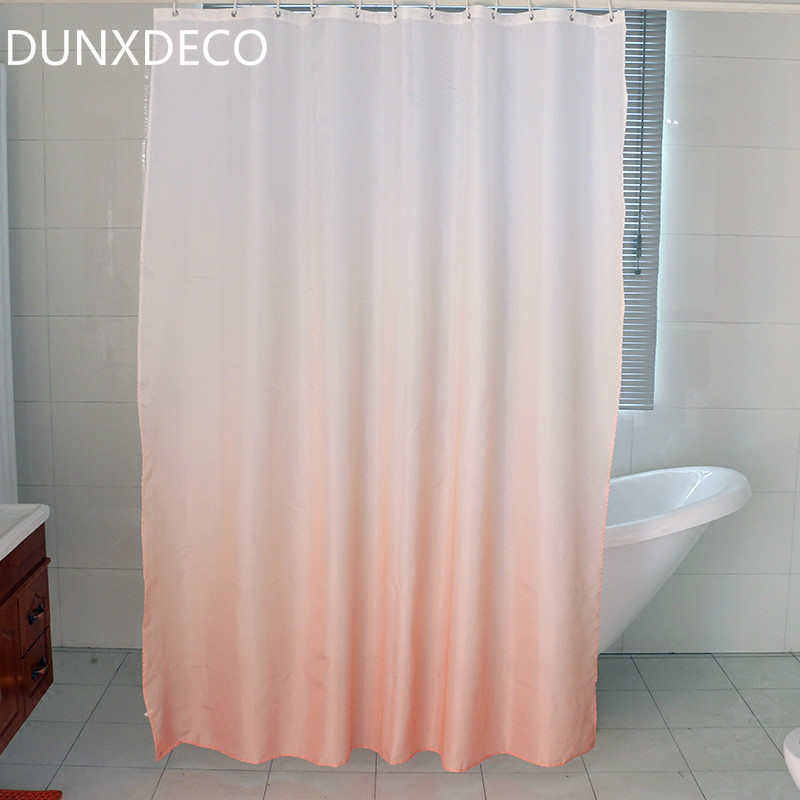 peach and gray shower curtain. DUNXDECO Shower Curtain Bathroom Waterproof Modern Gradational Pattern  Print Industry Gray Polyester Fabric Cortinas Peach And U Turquoise Tribal