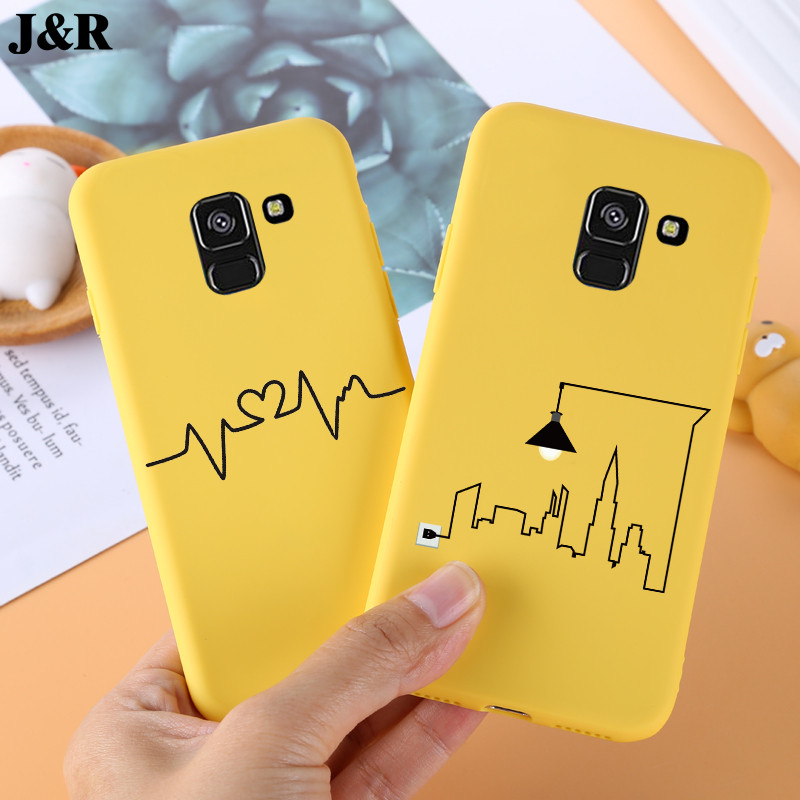 Case For <font><b>Samsung</b></font> Galaxy A8 2018 Case <font><b>Cover</b></font> for <font><b>Samsung</b></font> A8 2018 <font><b>A530F</b></font> <font><b>Cover</b></font> TPU Silicone Coque for <font><b>Samsung</b></font> Galaxy A8 Phone Case image