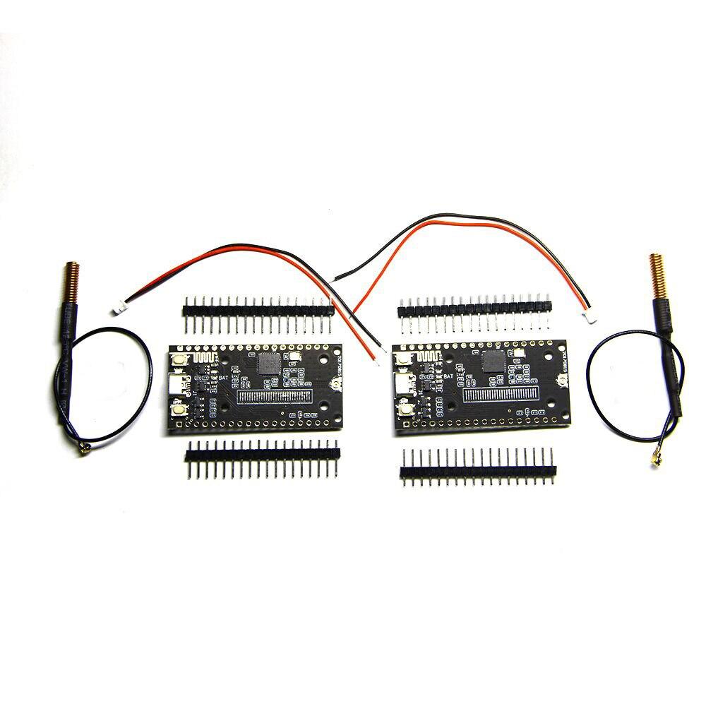 2Pcs SX1278 LoRa ESP32 Bluetooth WI-FI Lora Internet Antenna Development  Board for Arduino nona