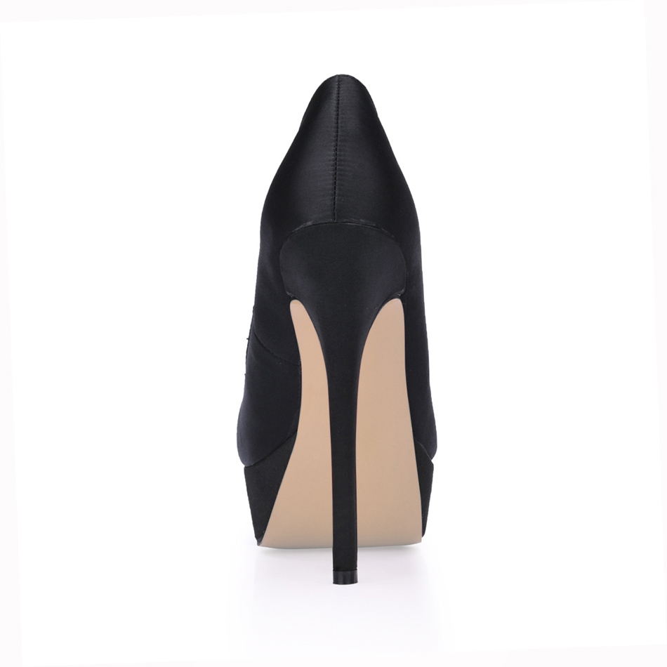Sexy Party Round Toe Platform Stiletto Women Pumps Chaussure Escarpins Femmes Bout Rond Tacon Alto Aguja Zapatos Mujer YJ3463 a4 in Women 39 s Pumps from Shoes