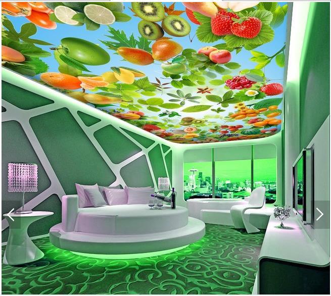 3d photo wallpaper custom 3d ceiling wallpaper wall 3 d Fruit super clear frescoes wall paper 3d living room wallpaper Обои