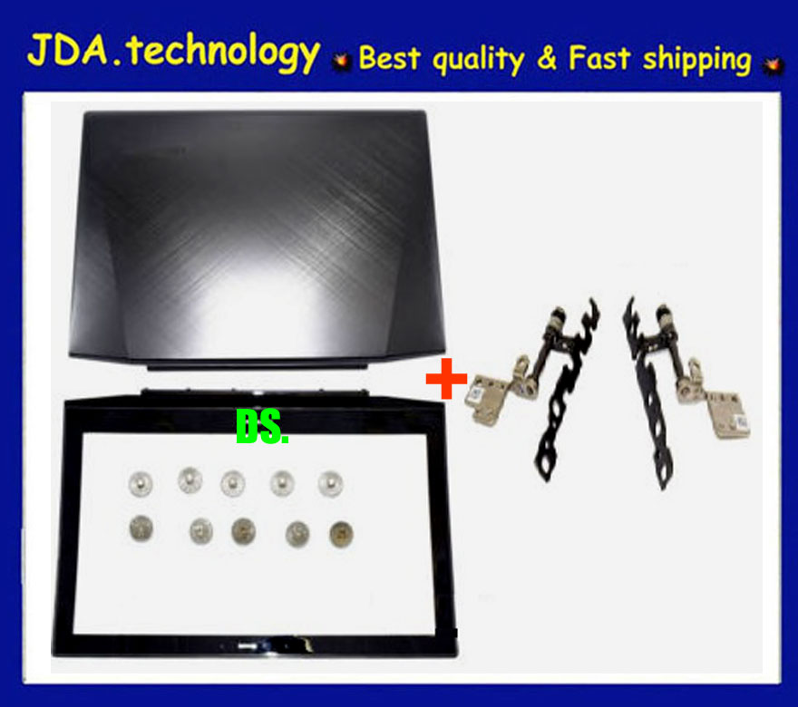 """New FOR Lenovo Y50 Y50-70 15.6/"""" Lcd Back Cover Lcd Hinges Screws Non-touch"""