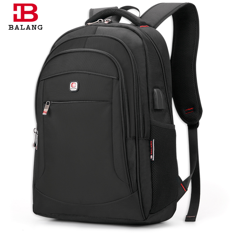 BALANG 2018 Men's Laptop Backpack For 15.6 Inch Casual Shoulder Bag For Women Waterproof Fashion Travel Bags College Backpacks
