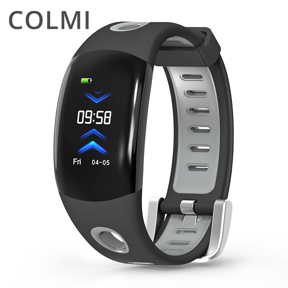 COLMI Smart Wristband Watch Bluetooth Color LCD Fitness Bracelet Heart Rate Monitor Fitness IP68 Waterproof Pedometer Smart Band