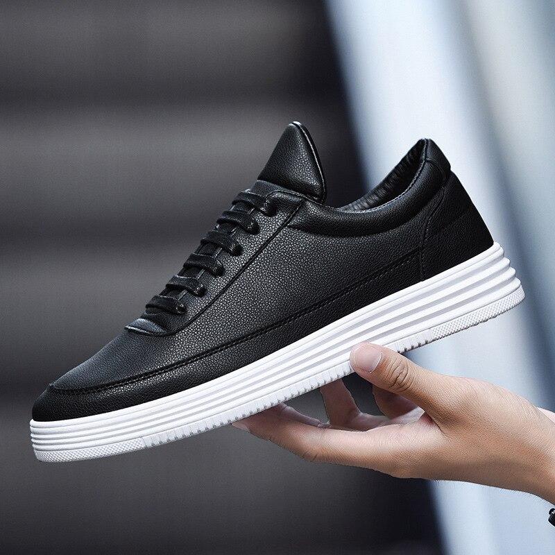 Fooraabo Luxury Brand Men Shoes Leather