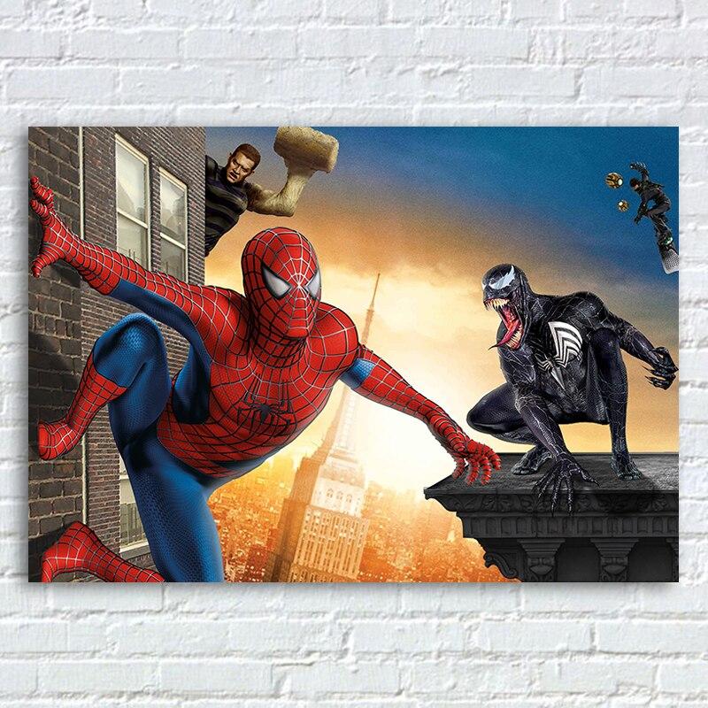 Poster Do Filme Homem Aranha 3 Harry Osborn Sandman Spiderman