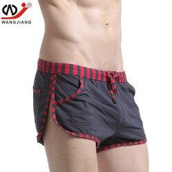 4pcs/lot WJ Men's Casual gyms Shorts sporting Loose Bermuda Shorts men Pure Cotton Casual Arro Short Homme sports boxers shorts