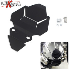 Black Front Engine Housing Protection Guard Cover Plate for BMW R1200GS LC/ADV R1200R LC R1200 RT R1200RS 2014-2017
