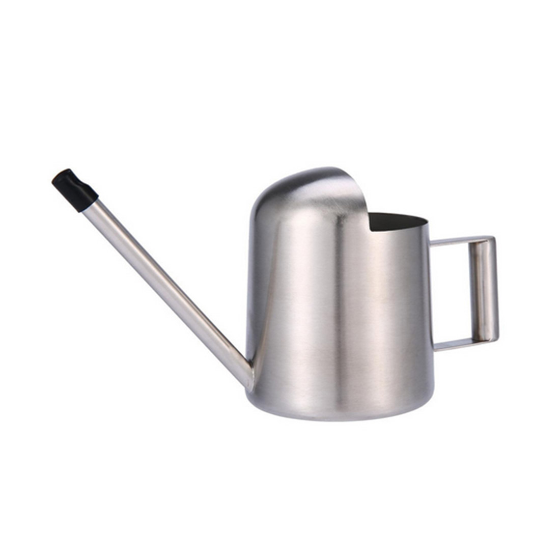 VICTMAX 1 Pcs 300ML Stainless Steel Water Cans Mini Flower Spraying Watering Spray Bottle With Long Mouth Watering Kettle Silver
