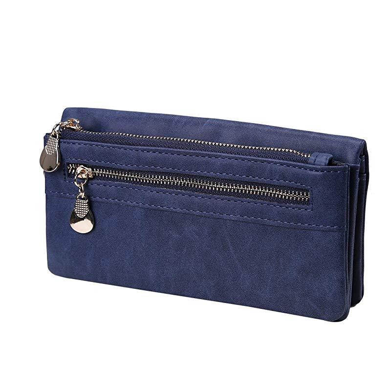 Geldbörsen & Brieftaschen Gepäck & Taschen Frauen Gestreifte Baumwolle Geldbörse Damen Short Brieftasche Weibliche Kleine Tasche Bolsa Carteira Feminina Bolso Mujer Für Mädchen