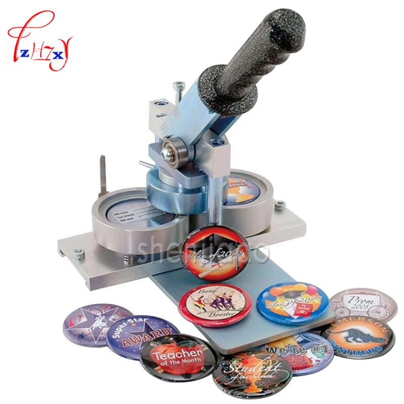 Tinplate badge machine (58mm)Aluminum alloy icons Badges Maker Button Machine все цены