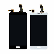 1PCS Black/White/Gold 5Inch LCD Display + Digitizer Touch Screen Replacement For Meizu U10 Cell Phone Parts + Tools