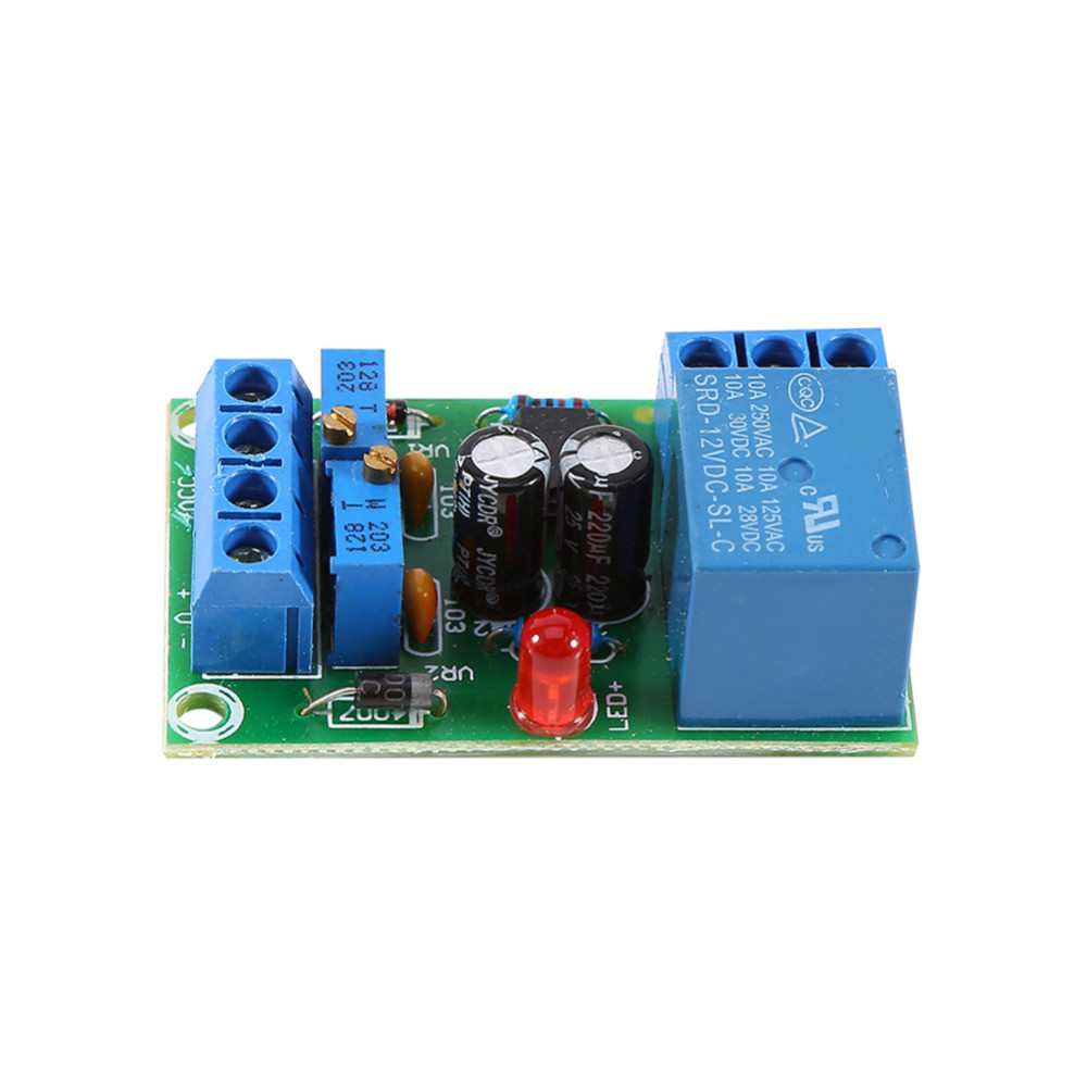 12V Battery Automatic Charging Controller Module Protection Board Relay Board Module Anti-Transposition Smart Charger Hot Sale xh m603 li ion lithium battery charging control module battery charging control protection switch automatic on off 12 24v
