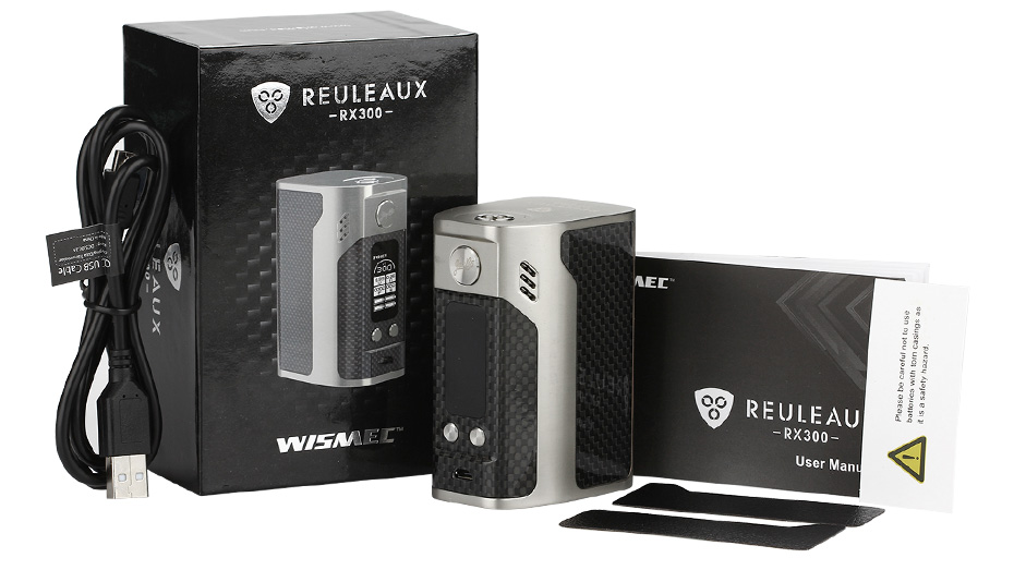 WISMEC Reuleaux RX300 TC Express Kit WO Battery 2